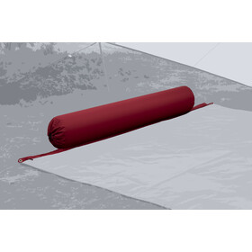 Bent XL Lounger Plain Almohada, barbados cherry
